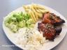 Hauts de cuisse de poulet grillés à l'asiatique