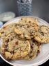 Ma recette de cookies au coeur coulant choco-noisette - Laurent Mariotte