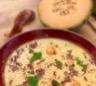 Ma recette de gaspacho de melon au jambon cru - Laurent Mariotte