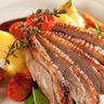 Magrets de canard marinés ses légumes et sa sauce soja miel et épices