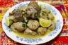 Market el kefta-tajine de kefta à l'agneau sauce blanche au safran