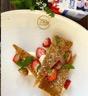 Mille-feuilles fraises crème diplomate et basilic