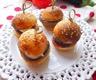 Mini Burger Tomate Aubergine & Mozzarella