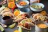 Mini Tacos de pulled beef Salsa & Avocat