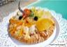 Moelleux au citron et fruits confits
