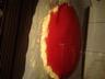 Mousse au chocolat blanc et citron vert sur lit croquant