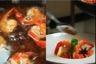 Nage de gambas à l'anis étoilé wok de légumes croquants