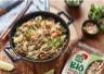 Nouilles aux oeufs BIO Suzi Wan façon pad thaï au poulet et aux crevettes