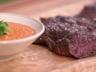 Onglet de boeuf sauce satay par Laurent Mariotte
