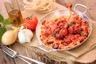 Paella au poulet chorizo et poisson