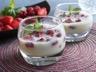 Panacotta fruits rouges au lait concentré sucré Sans Lactose