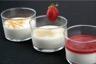 Panna cotta à la vanille coulis de fraises fraîches