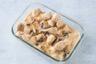 Pâtes au poulet crème et champignons