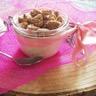 Perles façon riz au lait de coco vanillé et son crumble de granola
