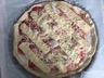 Pizza au jambon et reblochon