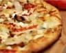 Pizza aux endives cèpes et chèvre
