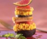 Poêlée de Couscous Parfumé au foie gras et aux figues et son pain d'épices