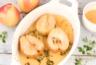 Poires rôties à l'orange et au miel