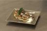 Pomme de terre surprise aux cèpes et foie gras