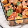 Poulet aux olives et pommes de terre