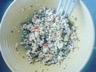 Quinoa en salade au poivron et ciboulette
