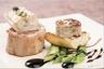 Râble de lapin farci au foie gras et asperges vertes
