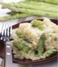 Risotto aux asperges et fromage frais
