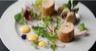 Roulé de poulet fermier des Landes en saveur citronnée sabayon de citron