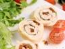Roulés de poulet mozzarella tomates séchées et sauge