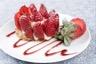 Sablé breton crème légère à la vanille et fraises