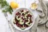 Salade de betterave au chèvre frais