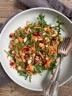 Salade de carotte, quinoa et pois chiche à la marocaine