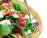 Salade de chèvre frais