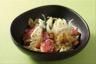 Salade de farfalle fenouil et rouget