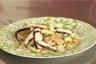 Salade de Farfalle poulet au vinaigre balsamique