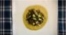 Salade de lentilles à la crème d'oseille et aux asperges