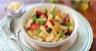 Salade de pâtes aux poivrons artichauts et thon