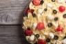 Salade de pâtes aux tomates cerise mozzarella et olives