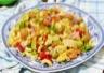 Salade de pâtes (coquillettes) au thon sauce tomate