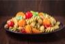 Salade de pâtes et tomates cerises