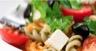 Salade de pâtes tricolores tomates et Caprice des Dieux