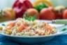 Salade de quinoa au saumon fumé