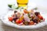 Salade de riz au thon tomates et poivrons
