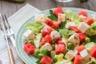 Salade fraîche Pastèque et Fromage de brebis