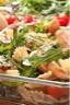 Salade fraîcheur Farfalle poulet comté et roquette