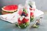 Salade jar à la pastèque roquette et feta
