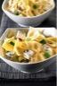 Salades de Farfalle aux courgettes feta et pignons