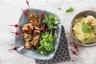 Saltimbocca de veau au basilic polenta crémeuse aux olives