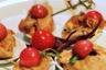 Saltimbocca de veau tomate et sauge wok de légumes croquants