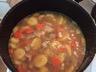 Sauté de porc avec carottes et pommes de terre